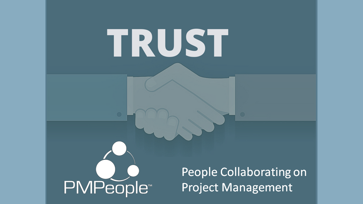Blockchain to implement Trust in Project Management