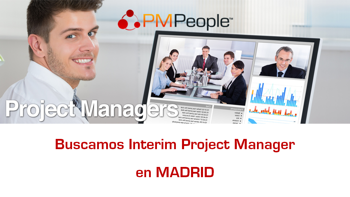 Buscamos Interim Project Manager para Multinacional del Sector Salud