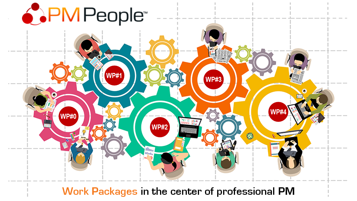 Work Packages in the center of Professional Project Management